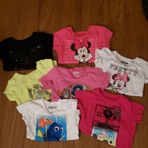 Other - Lot of 7 size 4/5 girl's tees
